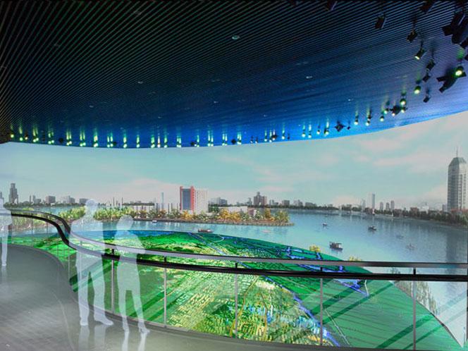 锡东新城城市物联规划馆规划馆 科技馆 展厅展馆 案例展示 无锡展厅设