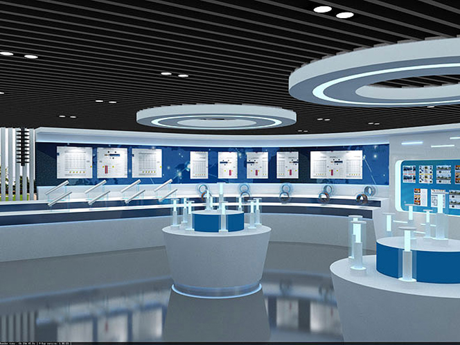上海现代建筑设计院_无锡华能电缆科技展厅企业展厅 - 展厅展馆 - 案例展示 - 无锡 ...